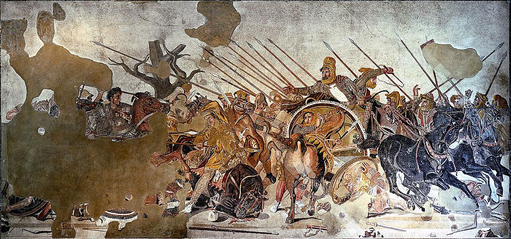 битката при Иса, Александър III Македонски