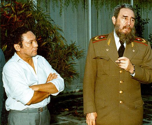 Нориега и Кастро