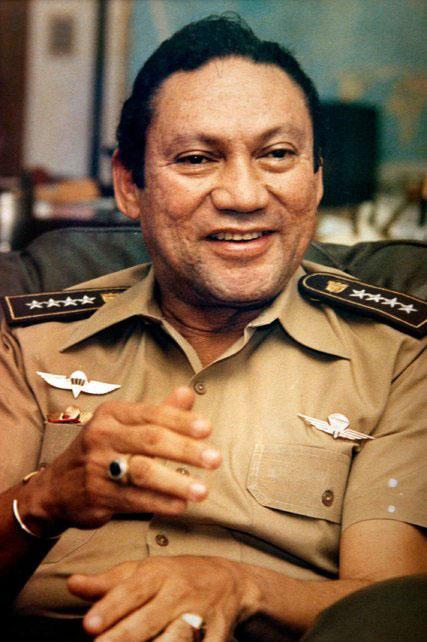 генерал Нориега като военнопленик на САЩ