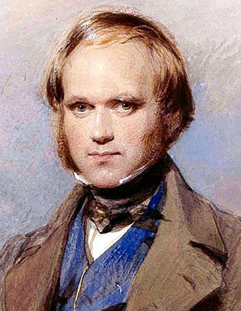 младият Чарлз Дарвин
