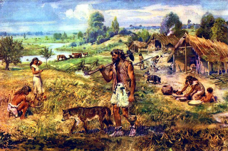 праисторическото стопанство и земеделие, изкуствен отбор