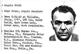 Досие на Анджело Бруно