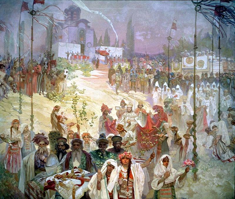 Коронацията на цар Стефан Душан