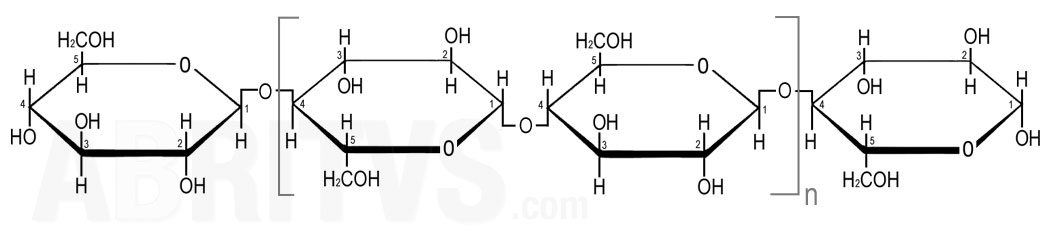 целулоза, полизахарид